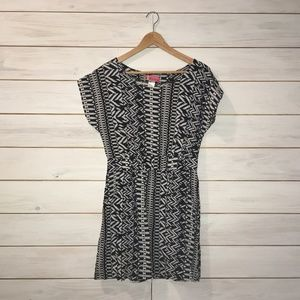 Body Central Black and White Dress